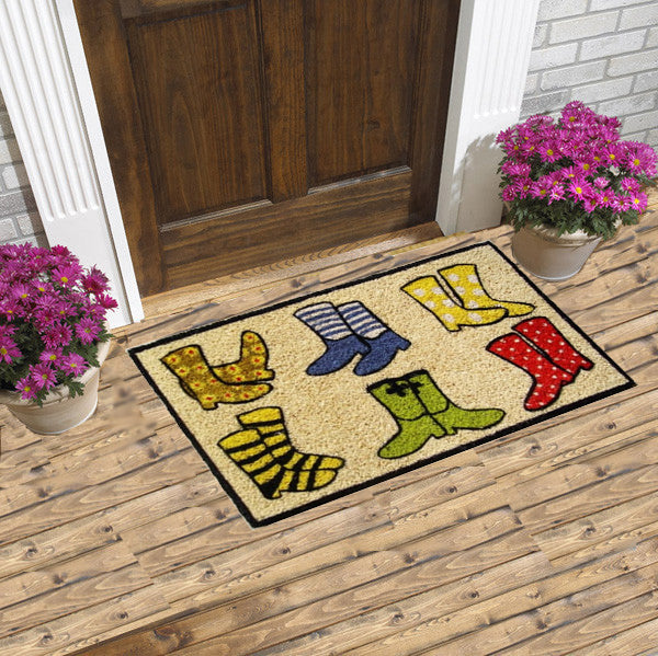 Shoes and socks - coco doormat