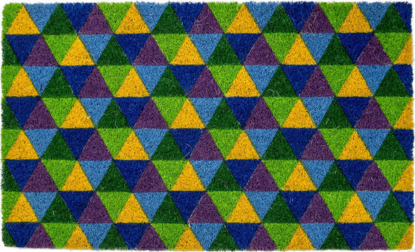 COLOR TRIANGLES - COCO DOORMAT