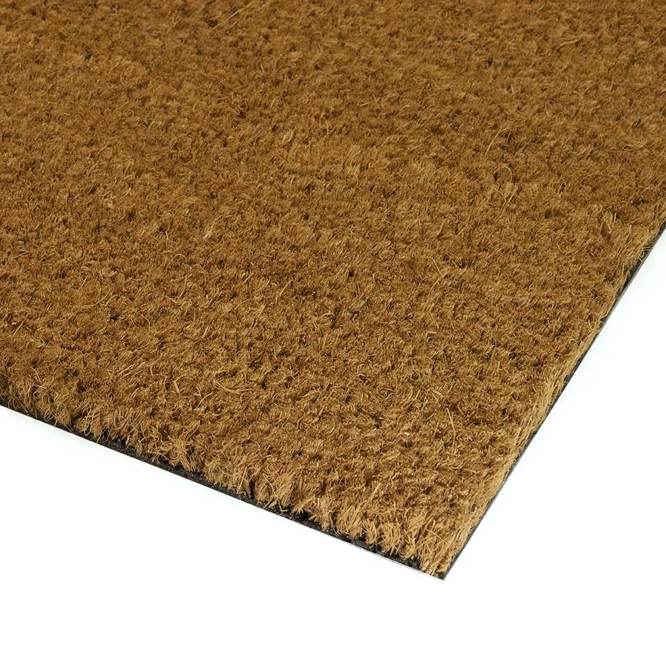 Custom Sized High Density Vinyl Backed Coco Mats
