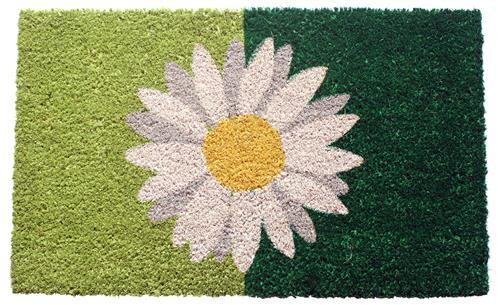 Coir-Mats-One-Daisy-On-Green