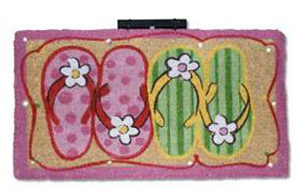 FLIP N FLOP - MAGIC L.E.D COIR DOORMATS