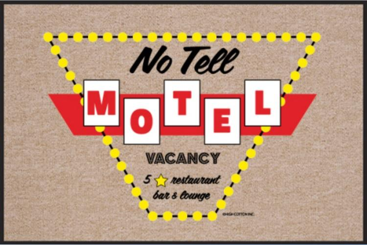 Funny-Doormat-No-Tell-Motel
