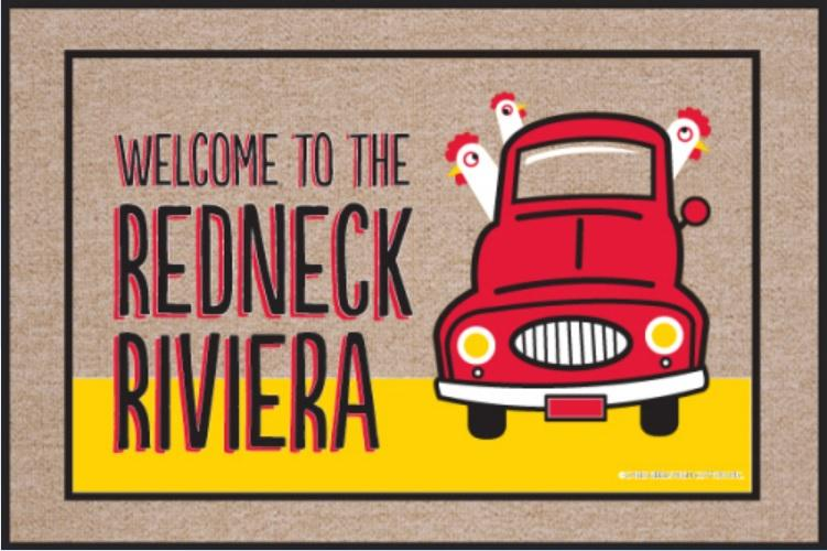 Funny-Doormat-Welcome-To-Redneck-Riviera