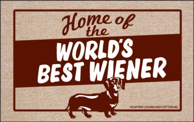 World's Best Wiener Olefin Doormat