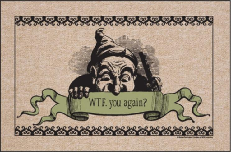 Funny-Doormat-WTF-You-Again