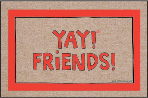 Funny-Doormat-Yay-Friends