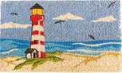 coir doormat - lighthouse