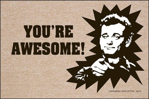 You're Awesome Olefin Doormat