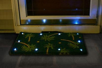 Magic LED Doormat coir - Palm beach