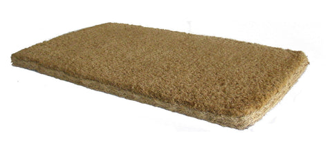 "PLAIN COCO DOORMATS 1.5"" THICK"