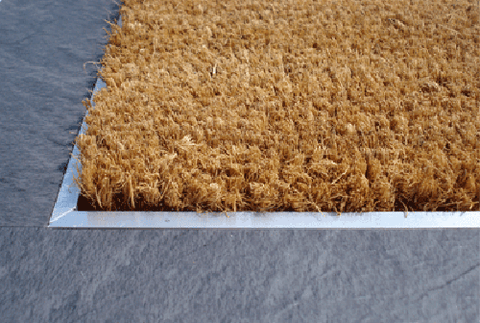 "PLAIN COCO DOORMATS FOR RECESSED AREAS - 1/2"" THICK"