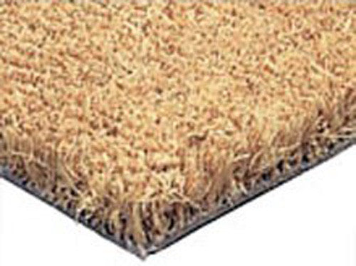"PLAIN COCO DOORMATS FOR RECESSED AREAS - 1"" THICK"