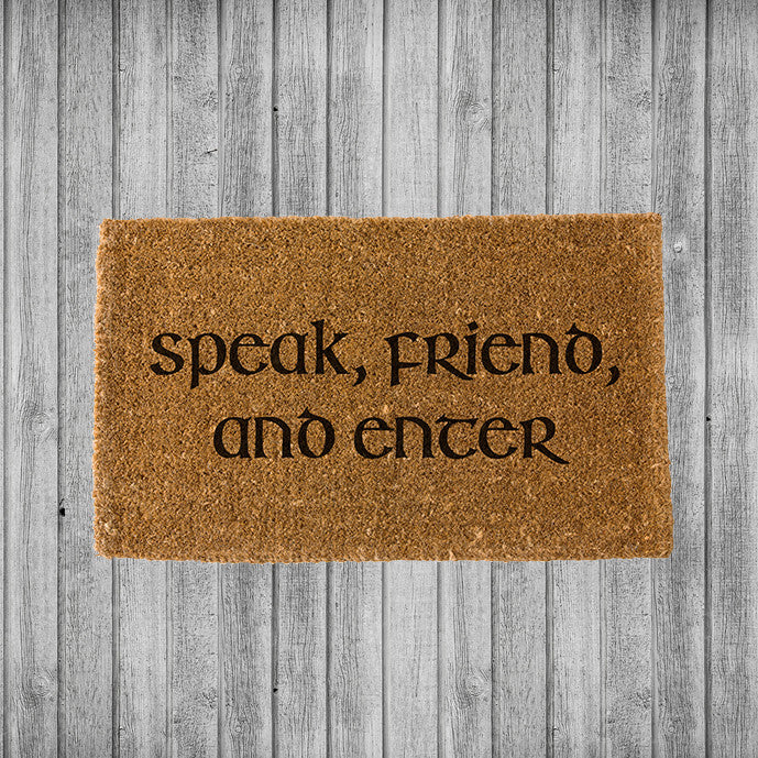 Speak Friend and Enter