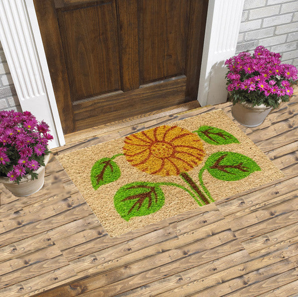 sunflower coco doormats