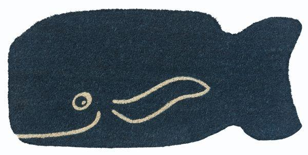 Blue Whale Vinyl Coir Doormat  ***DISCONTINUED***