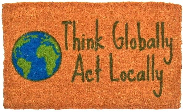 Think Globally Handwoven Coco Doormat