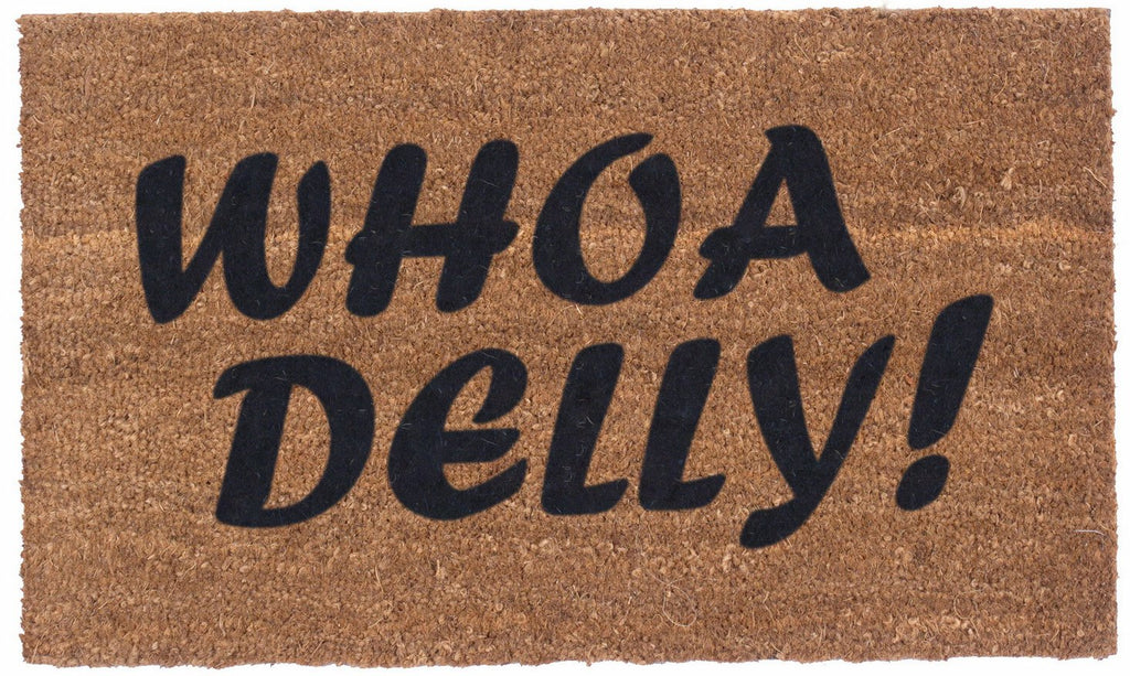 WHOA DELLY – Vinyl Backed Coco Mats