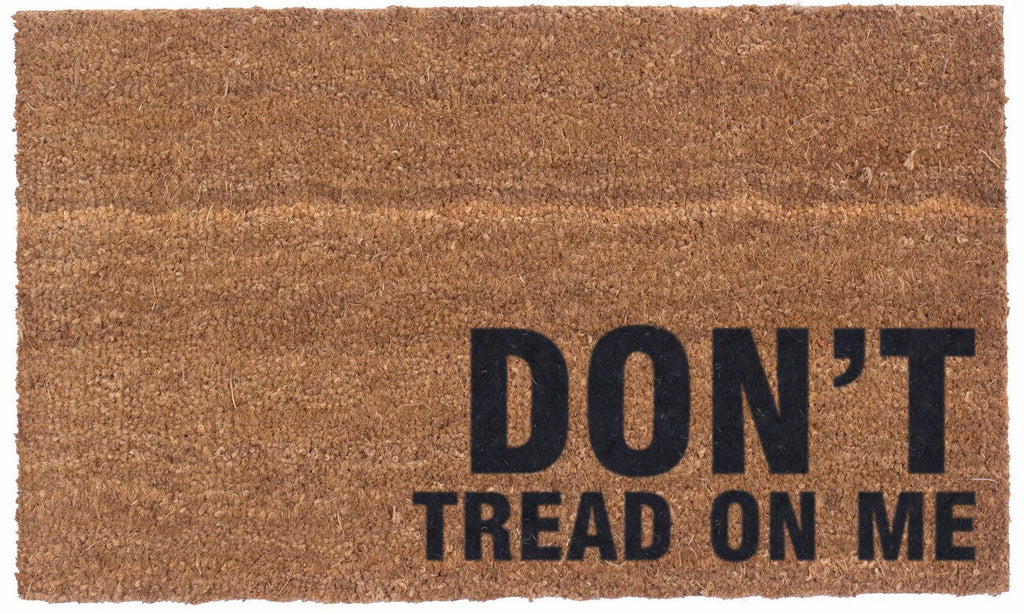 Don't Tread on Me - Vinyl Backed Coco Doormats