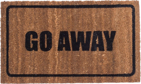 GO AWAY - COIR DOOR MATS