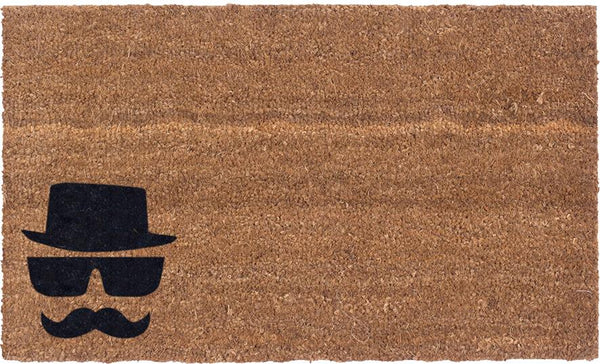 We Are Watching You Vinyl Coir Doormat
