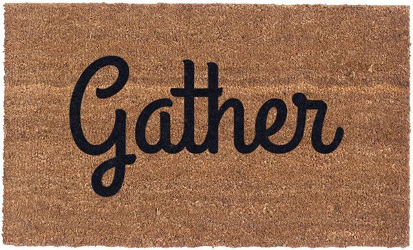 Gather Vinyl Coir Doormat
