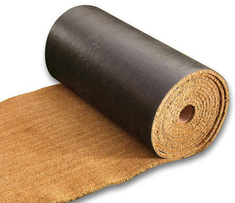 COCO COIR FULL ROLLS - 1 inch THICK VINYL BACKED ROLLS