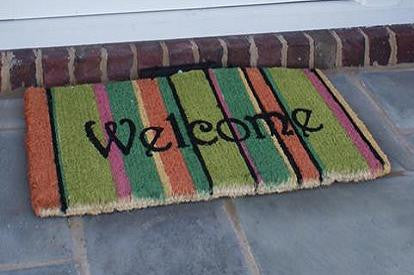 Contemporary Magic LED Coir Doormats