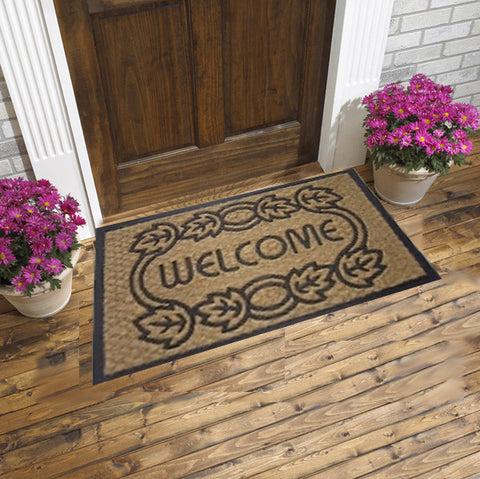 coir mats - welcome