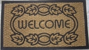 coco coir mat - welcome