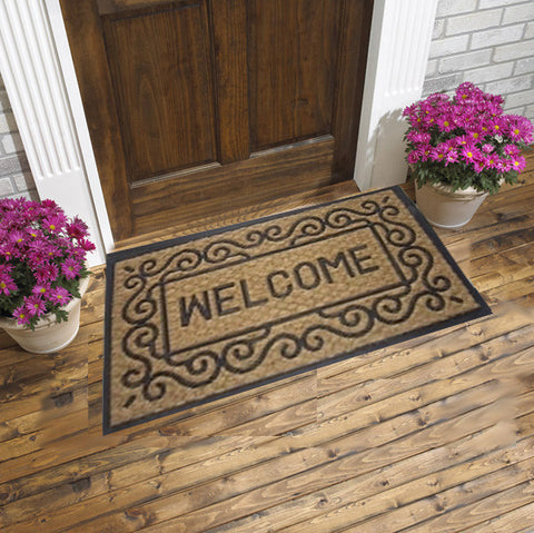 Coco Doormats - Vulcanized Rubber welcome