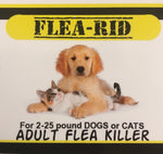 Flea-Rid Flea Killer - 12mg for 2-25 pound Dogs or Cats