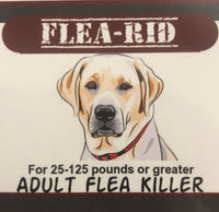 Flea-Rid Flea Killer - 57mg for 25-125 pounds or greater