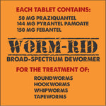 Worm-Rid Broad Spectrum Dewormer for Dogs