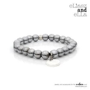 "Silver ""After-party"" City Soul Bangin' Bracelet"