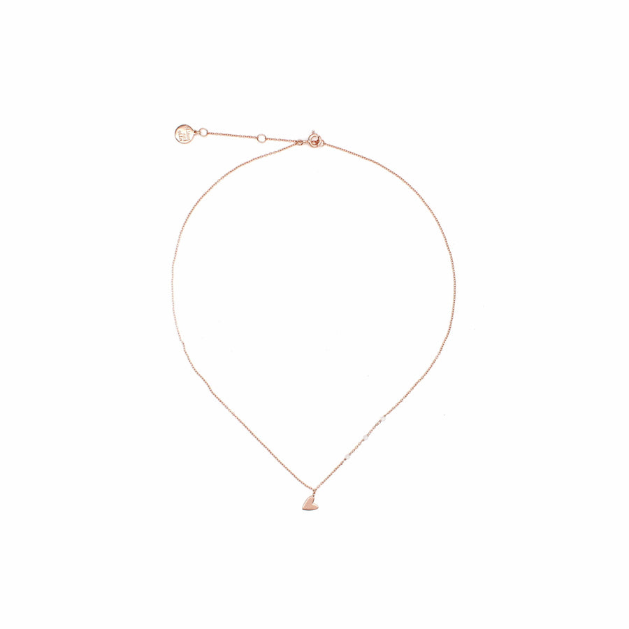 "Rose Gold ""Little Heart"" Necklace"