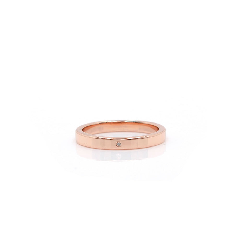 """D'Amour"" Rose Gold Ring"