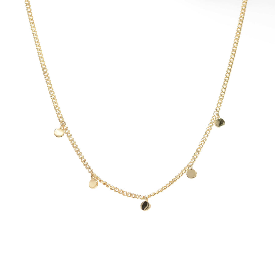 """Truffle"" Necklace in Gold"