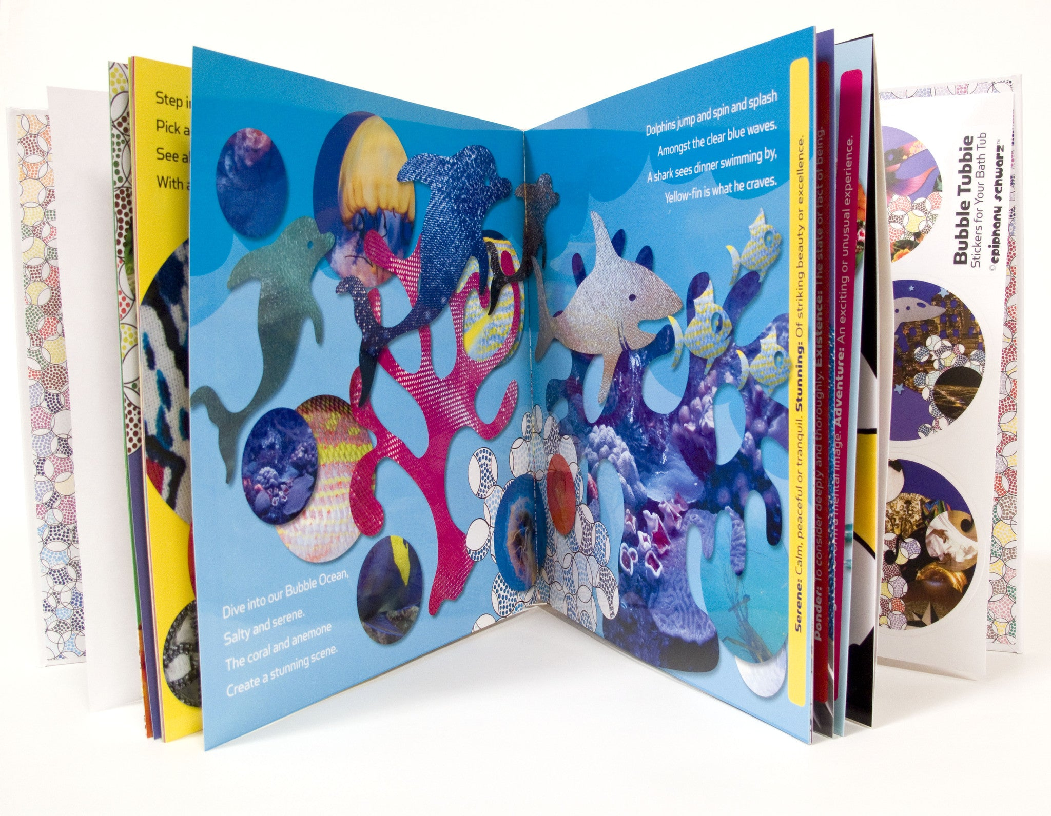 Buy: Padded Hardcover Book with Bath Stickers | Bubble Tubbie by ...