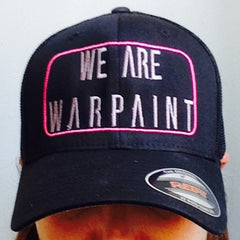 Warpaint Athletic Hat: Flexfit Black