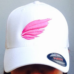 Warpaint Athletic Hat: Flexfit White - SOLD OUT