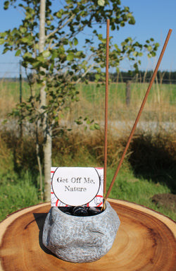 Get off me, Nature incense from Sucreabeille