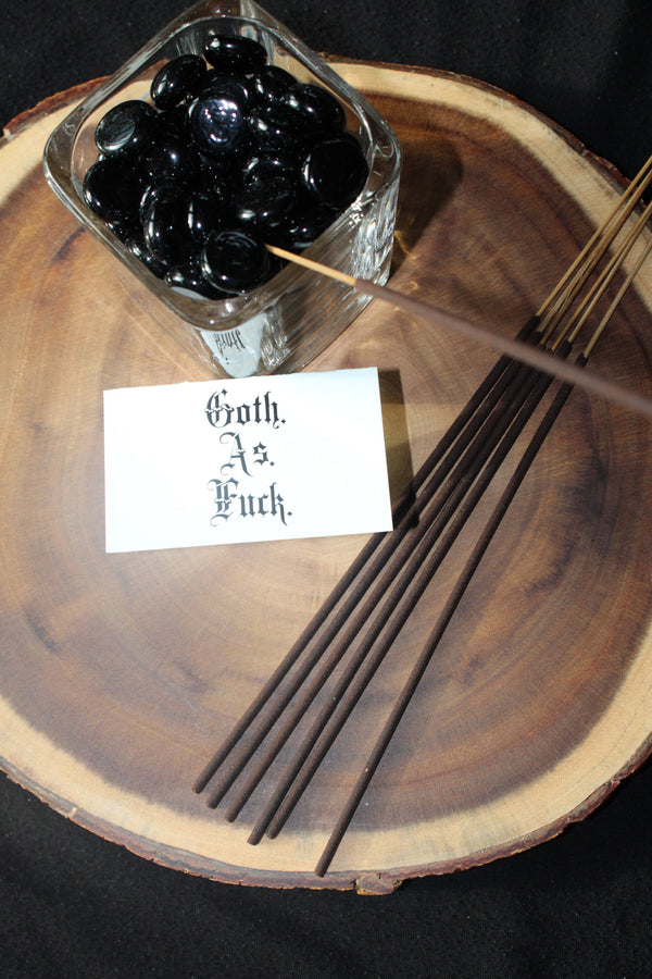 Goth As F**K incense from Sucreabeille