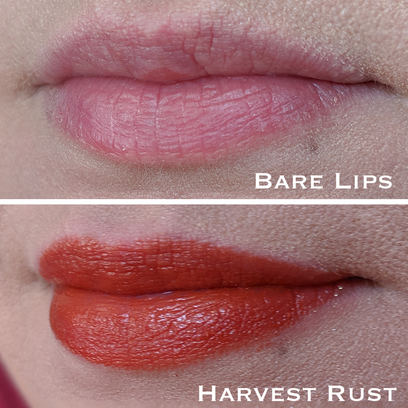 Moisturizing lipcolor in Harvest Rust by Sihaya & Co