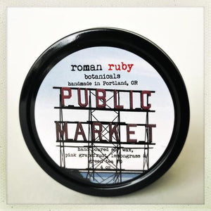 Public Market Candle from Roman Ruby Botanicals