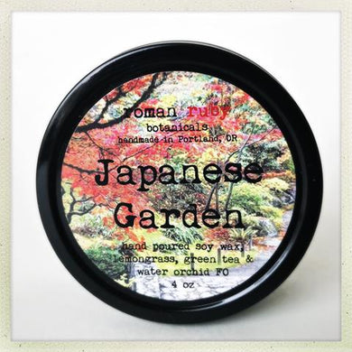 Japanese Garden Candle from Roman Ruby Botanicals