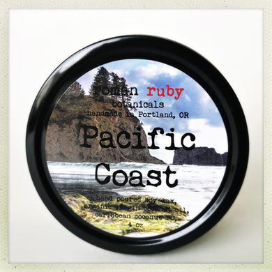 Pacific Coast Candle from Roman Ruby Botanicals