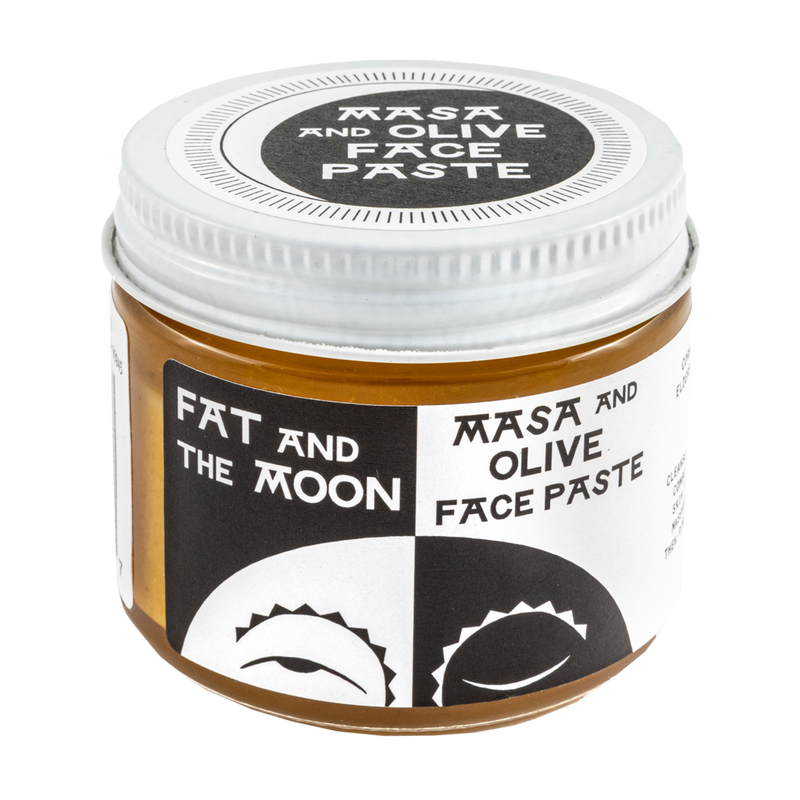 Masa and Olive Face Paste by Fat and the Moon