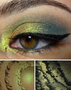 Femme Fatale loose eyeshadow in Petrified Pumpkin