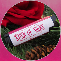 Moisturizing lipcolor in Rush of Sighs by Sihaya & Co