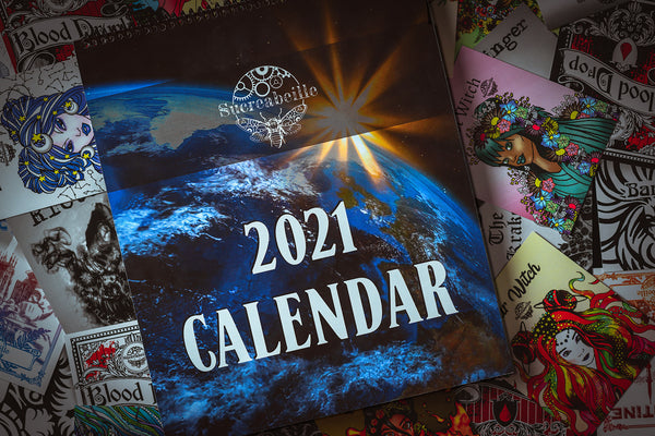 2021 Sucreabeille Wall Calender